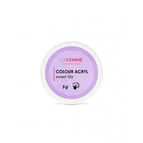 Puder akrylowy kolorowy 5g SWEET LILA