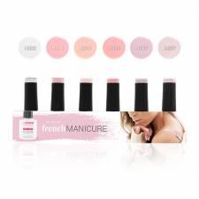 Zestaw Lakierów Hybrydowych French Manicure