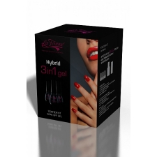 Zestaw startowy do wykonywania i usuwania manicure hybrydowego (metoda 3w1).