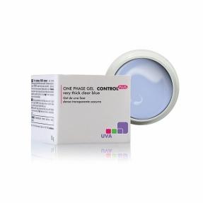 Żel UV jednofazowy gęsty przeźroczysty niebieski CONTROL PLUS 50g