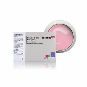 Żel UV budujący średniogęsty różowy CONTROL PLUS 50g