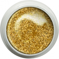 Żel UV kolorowy ART 8g gold disco