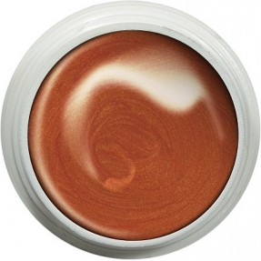 Żel UV kolorowy ART 8g red orange